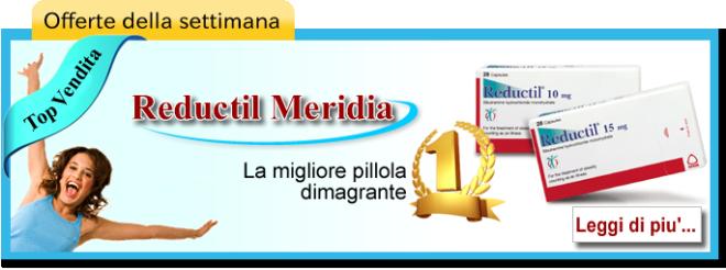 Acquistare Meridia Reductil